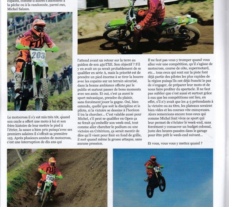Le motocross, terre de plaisir avec Michel Salaun